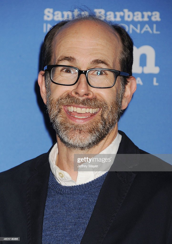 Writer Brian Huskey attends the 30th Santa Barbara International Film Festival 'Cinema Vanguard' award for 'The Theory of Everything' at the...