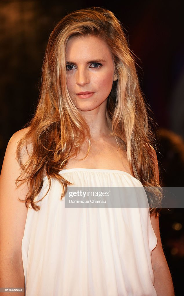 Writer Brit Marling attends 'The Iceman' Premiere during The 69th Venice Film Festival at the Palazzo del Cinema on August 30, 2012 in Venice, Italy.
