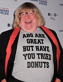 Writer Bruce Vilench poses on the red carpet during the 18th Annual Mark Twain Prize For Humor honoring Eddie Murphy at The John F Kennedy Center for...