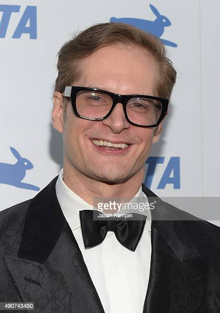 Writer Bryan Fuller attends PETA's 35th Anniversary Party at Hollywood Palladium on September 30 2015 in Los Angeles California