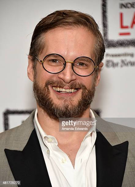 Writer Bryan Fuller attends the Film Independent at LACMA 'An Evening WithHannibal' event at the Bing Theatre at LACMA on July 23 2015 in Los Angeles...