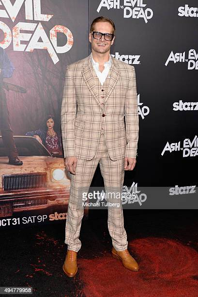 Writer Bryan Fuller attends the premiere of STARZ's 'Ash vs Evil Dead' at TCL Chinese Theatre on October 28 2015 in Hollywood California