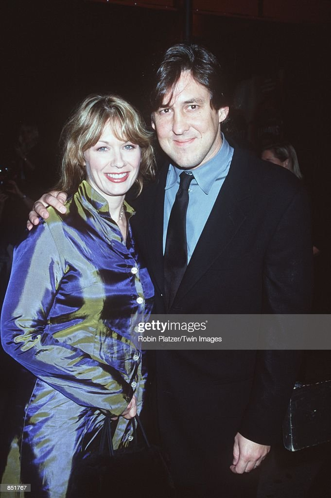 Writer Cameron Crowe and wife Nancy Wilson of the rock band attend the premiere of 'Almost Famous' September 11 2000 in New York NY