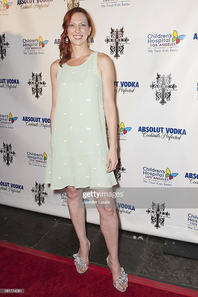 Writer Camille Licate attends The Abbey's 8th Annual Christmas in September event benefiting The Children's Hospital Los Angeles at The Abbey on September 24, 2013 in West Hollywood, California.