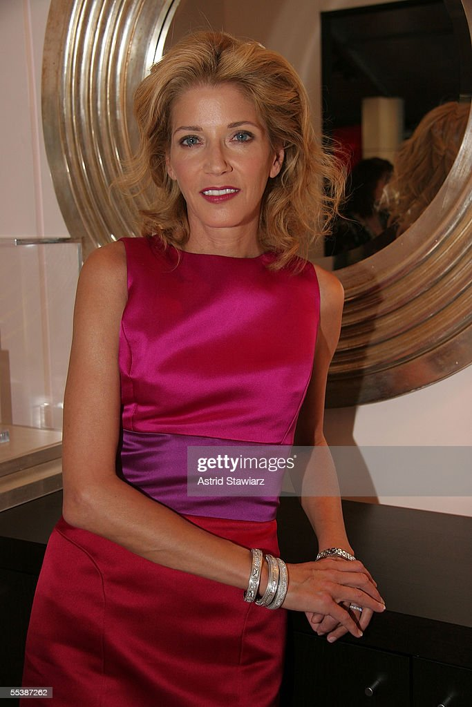 Writer Candace Bushnell attends day 4 of Olympus Fashion Week Spring 2006 at Bryant Park September 12, 2005 in New York City.