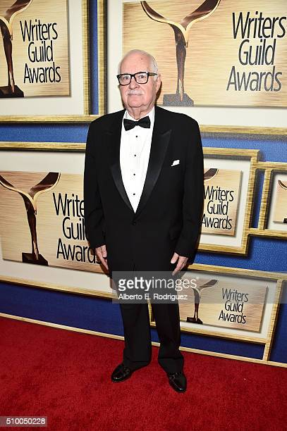 Writer Carl Gottlieb attends the 2016 Writers Guild Awards at the Hyatt Regency Century Plaza on February 13 2016 in Los Angeles California
