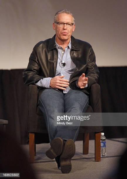 Writer Carlton Cuse speaks onstage at Bates Motel Story To Screen With Carlton Cuse during the 2013 SXSW Music Film Interactive Festival at Austin...