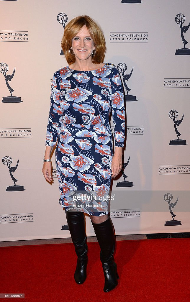 Writer Carol Leifer arrives at The Academy Of Television Arts & Sciences Writer Nominees' 64th Primetime Emmy Awards Reception at Academy of Television Arts & Sciences on September 20, 2012 in North Hollywood, California.