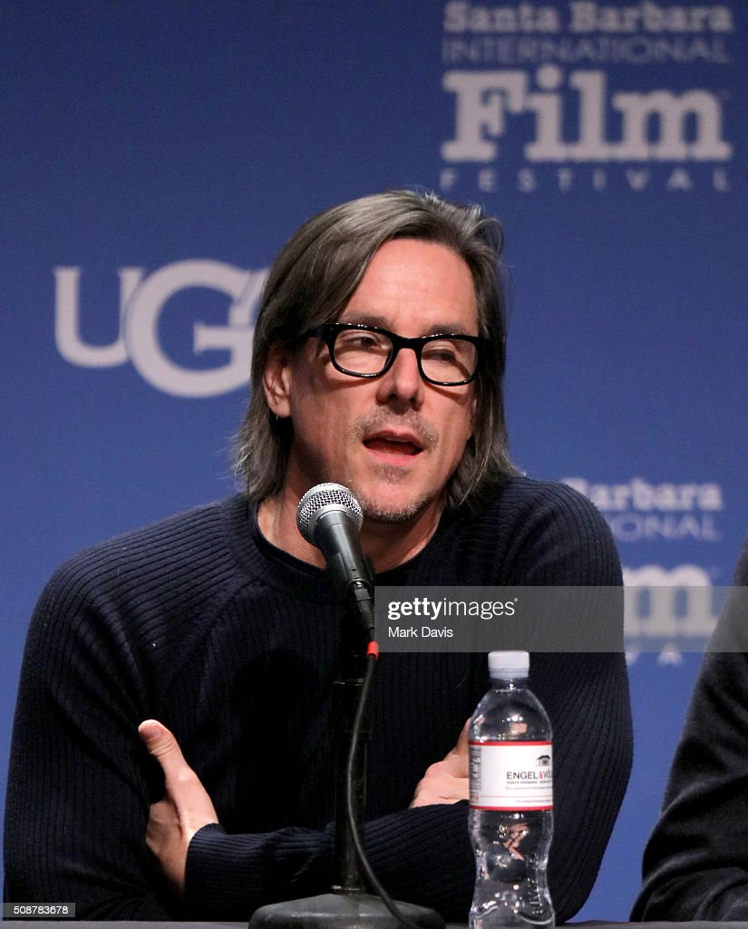 Writer Charles Rudolph speaks at the Writer's Panel at the Lobero, at the 31th Santa Barbara International Film Festival on February 6, 2016 in Santa Barbara, California.