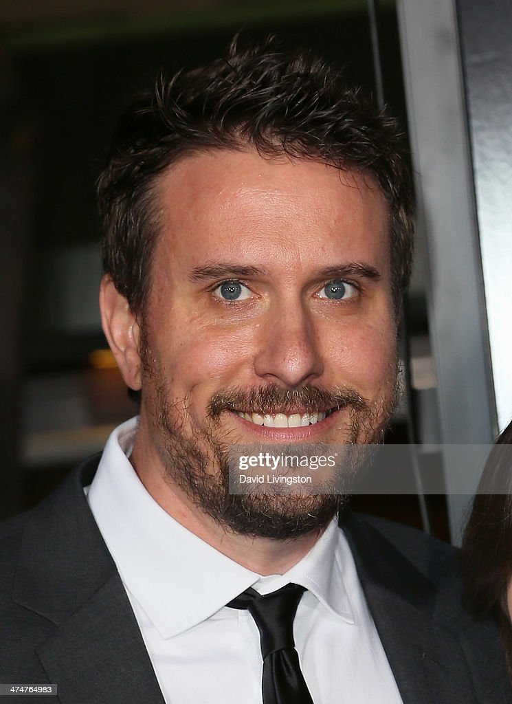 Writer Chris Roach attends the premiere of Universal Pictures and Studiocanal's 'Non-Stop' at the Regency Village Theatre on February 24, 2014 in Westwood, California.