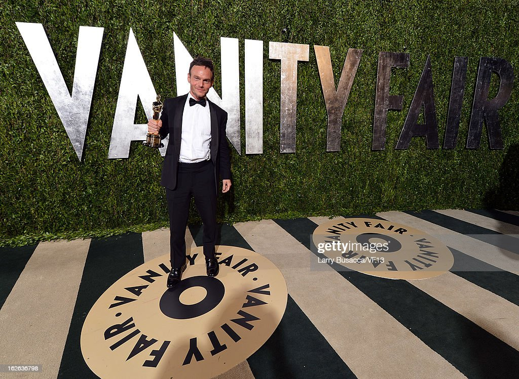 Writer <a gi-track='captionPersonalityLinkClicked' href=/galleries/search?phrase=Chris+Terrio&family=editorial&specificpeople=208138 ng-click='$event.stopPropagation()'>Chris Terrio</a> arrives for the 2013 Vanity Fair Oscar Party hosted by Graydon Carter at Sunset Tower on February 24, 2013 in West Hollywood, California.