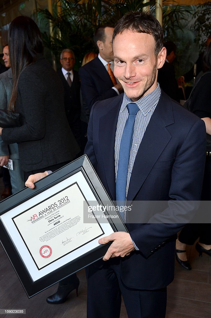 Writer Chris Terrio attends the 13th Annual AFI Awards at Four Seasons Los Angeles at Beverly Hills on January 11, 2013 in Beverly Hills, California.