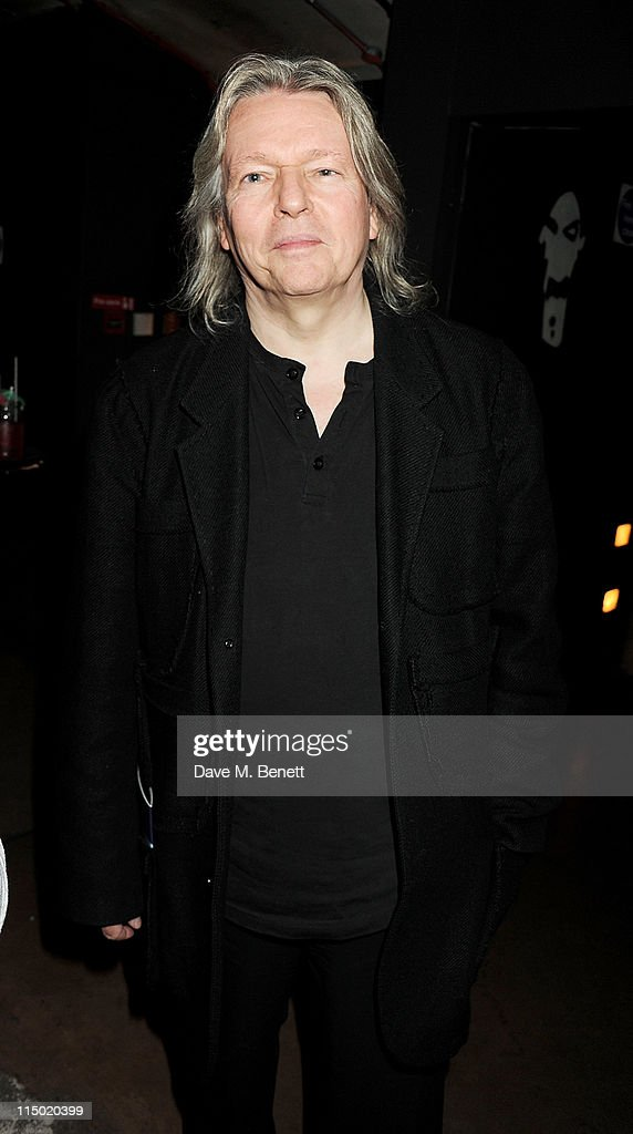 Writer <a gi-track='captionPersonalityLinkClicked' href=/galleries/search?phrase=Christopher+Hampton&family=editorial&specificpeople=570258 ng-click='$event.stopPropagation()'>Christopher Hampton</a> attends an after party celebrating press night of the new west end production of Much Ado About Nothing at The Foundation Bar on June 1, 2011 in London, England.