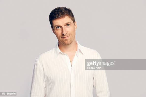 Writer Chuck Hogan from FX's 'The Strain' poses for a portrait at the FOX Summer TCA Press Tour at Soho House on August 9 2016 in Los Angeles...
