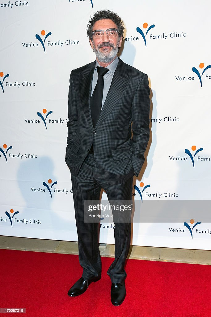 Writer Chuck Lorre attends the Venice Family Clinic's 35th Annual Silver Circle Gala at The Beverly Hilton Hotel on March 3, 2014 in Beverly Hills, California.