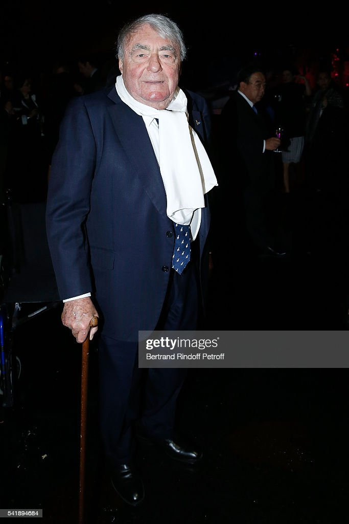 Writer <a gi-track='captionPersonalityLinkClicked' href=/galleries/search?phrase=Claude+Lanzmann&family=editorial&specificpeople=2464586 ng-click='$event.stopPropagation()'>Claude Lanzmann</a> attends the 'Jacques Chirac ou le Dialogue des Cultures' Exhibition during the 10th Anniversary of Quai Branly Museum at Musee du Quai Branly on June 20, 2016 in Paris, France.