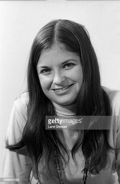 Closeup portrait of Sports Illustrated reporter Jane Gross during photo shoot at Time Life Building New York NY CREDIT Lane Stewart