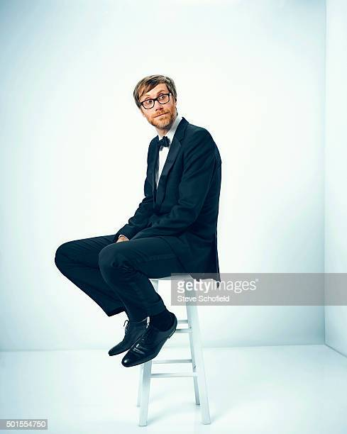 Writer comedian and actor Stephen Merchant is photographed for Emmy magazine on September 20 2015 in Los Angeles California