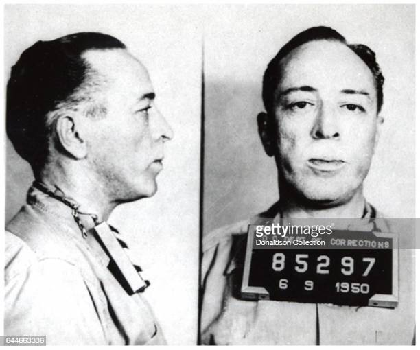 Writer Dalton Trumbo mugshot on June 9 1950