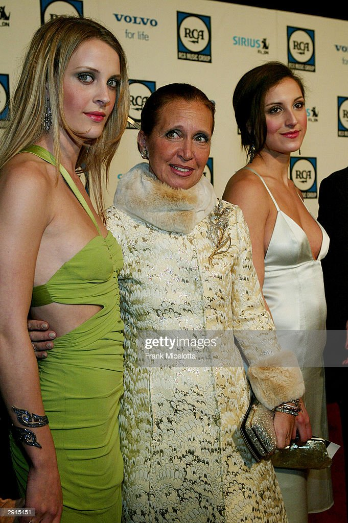 Writer Danielle Steele and guests attend Clive Davis' legendary Pre-Grammy party at the Beverly Hills Hotel on February 7, 2004 in Beverly Hills, California.