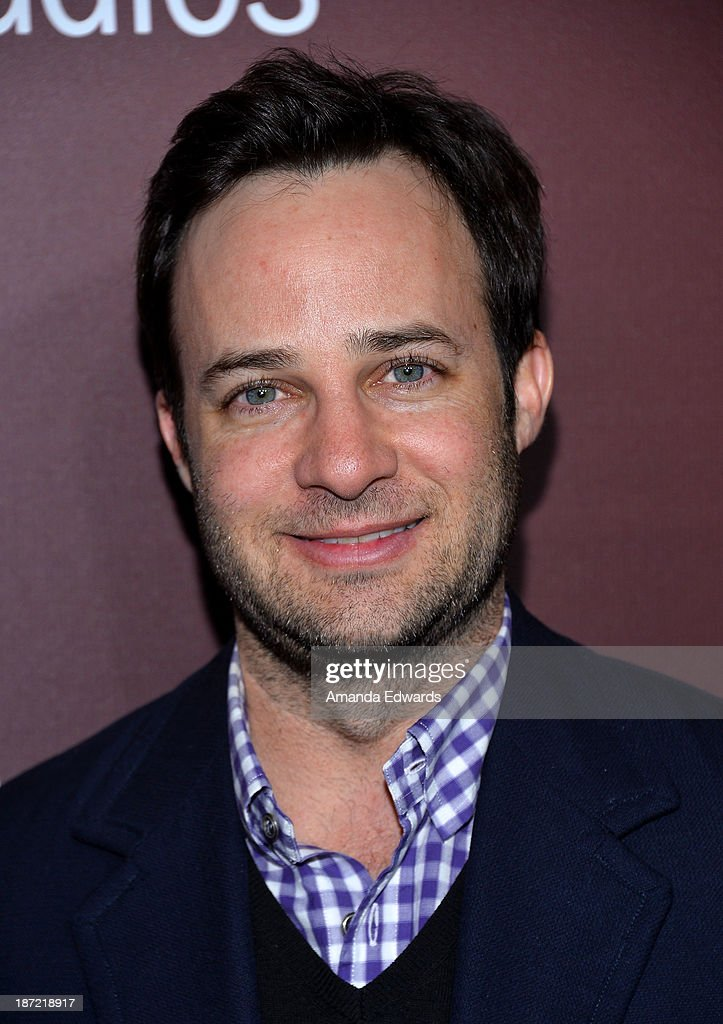Writer Danny Strong arrives at The Hollywood Reporter's Next Gen 20th Anniversary Gala at the Hammer Museum on November 6, 2013 in Westwood, California.