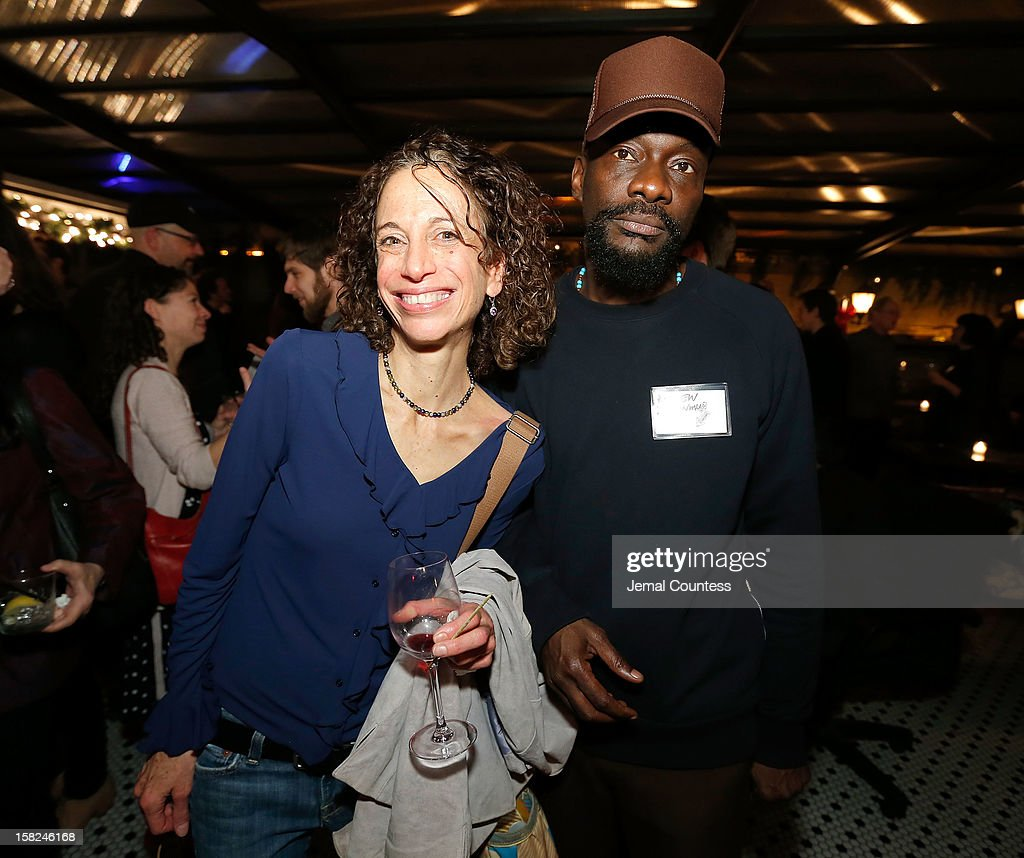 Writer Darci Picoult and filmmaker Andrew Dosunmu attend the 2012 Sundance Film Festival Filmmaker Orientation at Hotel Chantelle on December 11, 2012 in New York City.