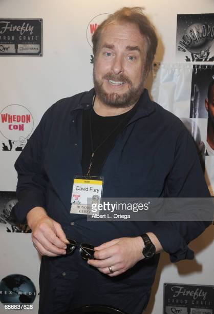 Writer David Fury attends WhedonCon 2017 held at Warner Center Marriott Woodland Hills on May 21 2017 in Woodland Hills California