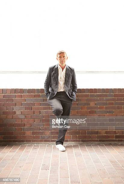Writer David Nicholls is photographed for Annabelle magazine on August 19 2014 in London England