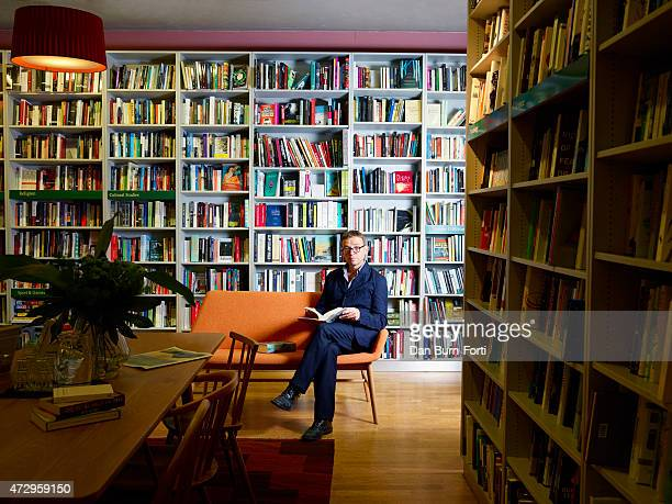 Writer David Nicholls is photographed for ES magazine on August 29 2014 in London England