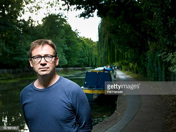 Writer David Nicholls is photographed for ES magazine on September 4 2012 in London England