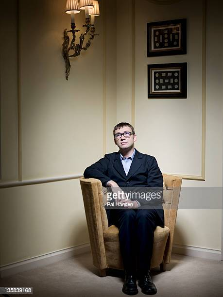 Writer David Nicholls is photographed for the Sunday Herald on July 20 2011 in London England