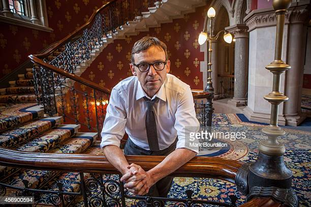 Writer David Nicholls is photographed for the Sunday Times on September 2 2014 in London England