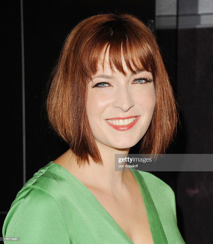 Writer Diablo Cody arrives at the Los Angeles Premiere 'Paradise' at Mann Chinese 6 on August 6, 2013 in Los Angeles, California.