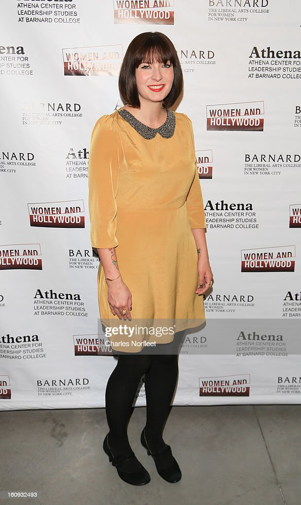 Writer Diablo Cody attends The 2013 Athena Film Festival Opening Night Reception at The Diana Center At Barnard College on February 7, 2013 in New York City.