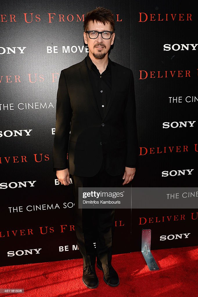 Writer, director and producer <a gi-track='captionPersonalityLinkClicked' href=/galleries/search?phrase=Scott+Derrickson&family=editorial&specificpeople=2260182 ng-click='$event.stopPropagation()'>Scott Derrickson</a> attends the 'Deliver Us From Evil' screening hosted by Screen Gems & Jerry Bruckheimer Films with The Cinema Society at SVA Theater on June 24, 2014 in New York City.