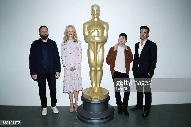 Writer director and producer Yorgos Lanthimos actress Nicole Kidman actor Barry Keoghan and actor Colin Farrell attend The Academy of Motion Picture...