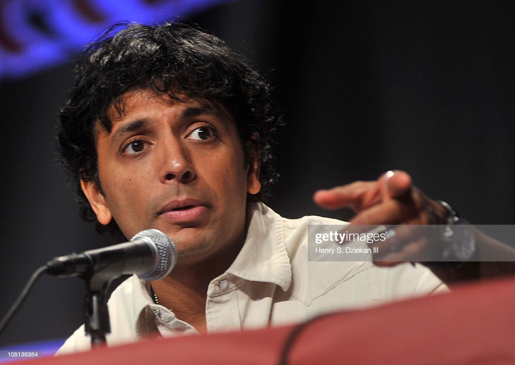 Writer / Director M. Night Shyamalan attends the 2010 New York Comic Con at the Jacob Javitz Center on October 10, 2010 in New York City.
