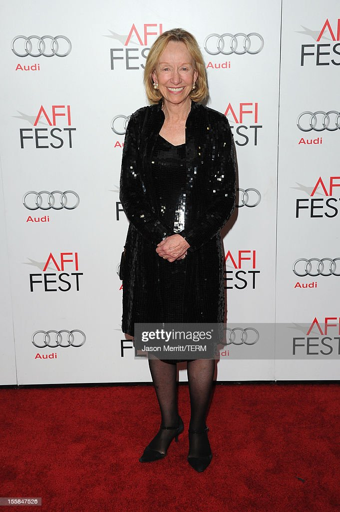 Writer Doris Kearns Goodwin arrives at the 'Lincoln' premiere during AFI Fest 2012 presented by Audi at Grauman's Chinese Theatre on November 8, 2012 in Hollywood, California.