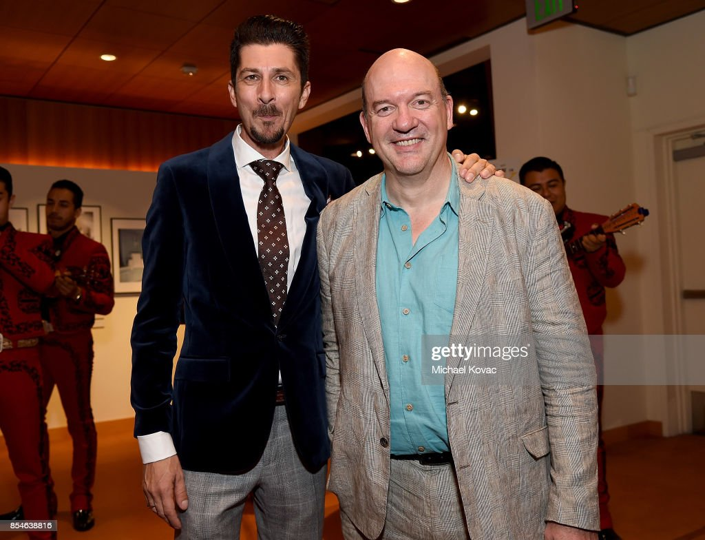 Writer Drago Sumonja and director John Caroll Lynch attend the after party for the Los Angeles premiere of 'Lucky' at Linwood Dunn Theater on September 26, 2017 in Los Angeles, California.