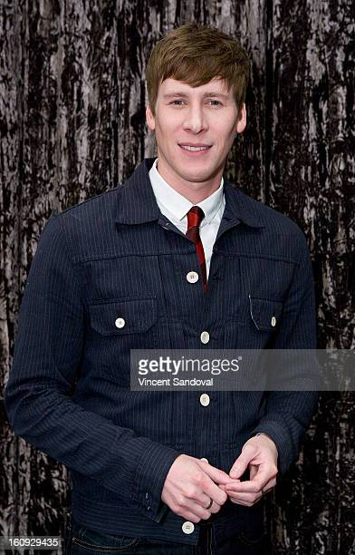 Writer Dustin Lance Black attends the Writers Guild of America's 'Beyond Words 2013' panel at Writers Guild Theater on February 7 2013 in Beverly...