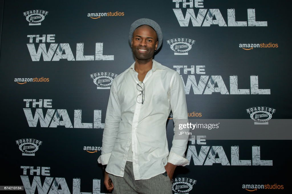 Writer Dwain Worrell attends the premiere of 'The Wall' at Regal Union Square Theatre, Stadium 14 on April 27, 2017 in New York City.