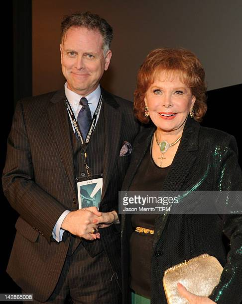 Writer Eddie Muller and actress Rhonda Fleming attend the screening of the film 'Cry Danger' at the 2012 TCM Classic Film Festival Day 1 at the...