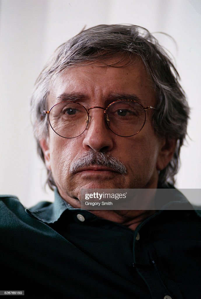 Writer Edward Albee winner of the Pulitzer Prize in fiction for Three Tall Women poses for a picture