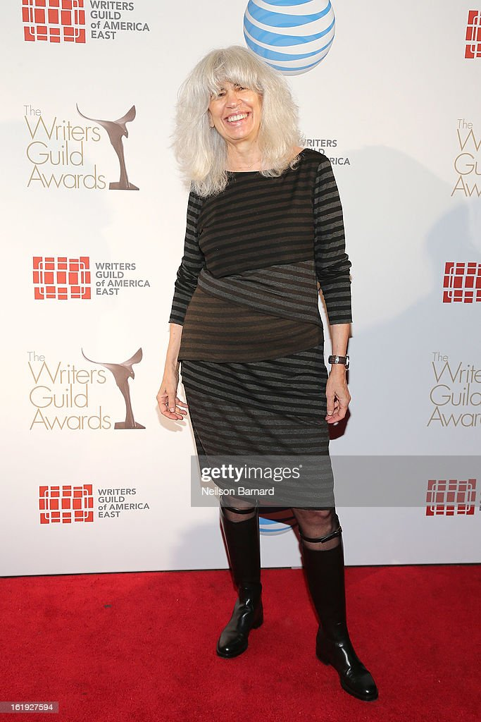 Writer Eleanor Bergstein attends the 65th annual Writers Guild East Coast Awards at B.B. King Blues Club & Grill on February 17, 2013 in New York City.