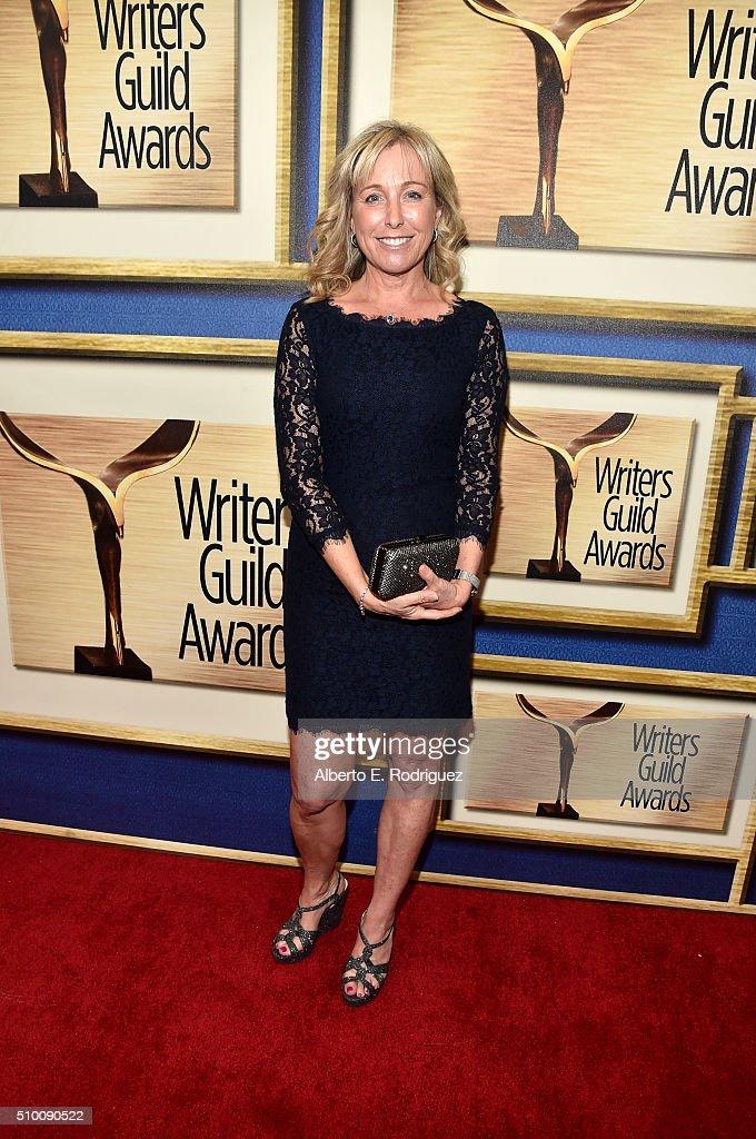 Writer Elizabeth Chandler attends the 2016 Writers Guild Awards at the Hyatt Regency Century Plaza on February 13, 2016 in Los Angeles, California.