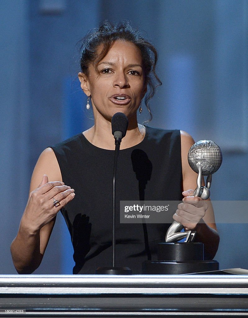 Writer Elizabeth Hunter onstage during the 44th NAACP Image Awards at The Shrine Auditorium on February 1, 2013 in Los Angeles, California.