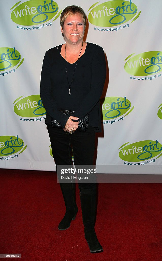 Writer Elizabeth Sarnoff attends the Bold Ink Awards at the Eli and Edythe Broad Stage on November 5 2012 in Santa Monica California