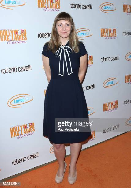 Writer Emily V Gordon attends the Lupus LA 15th annual Hollywood Bag Ladies Lunch at The Beverly Hilton Hotel on November 17 2017 in Beverly Hills...