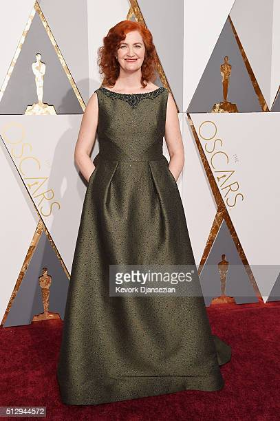 Writer Emma Donoghue attends the 88th Annual Academy Awards at Hollywood Highland Center on February 28 2016 in Hollywood California