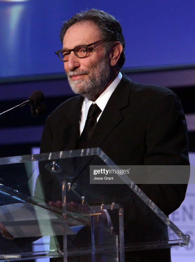 Writer <a gi-track='captionPersonalityLinkClicked' href=/galleries/search?phrase=Eric+Roth&family=editorial&specificpeople=699721 ng-click='$event.stopPropagation()'>Eric Roth</a> accepts the Laurel Award for Screen onstage during the 2012 Writers Guild Awards at the Hollywood Palladium on February 19, 2012 in Los Angeles, California.